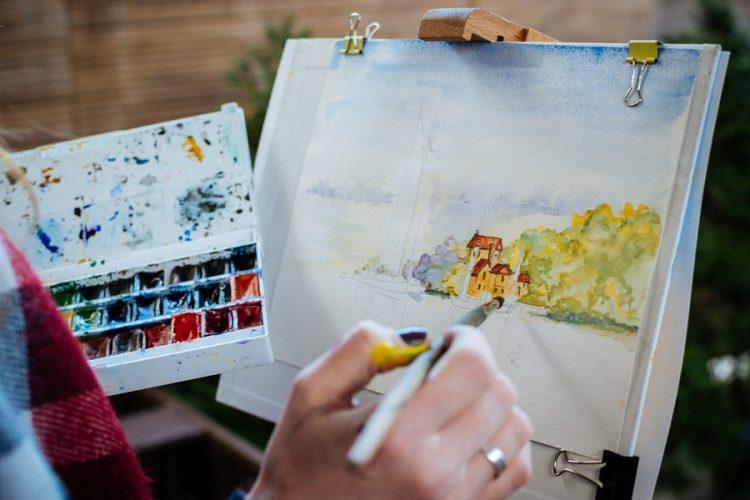 Az akvarell festészetről bővebben